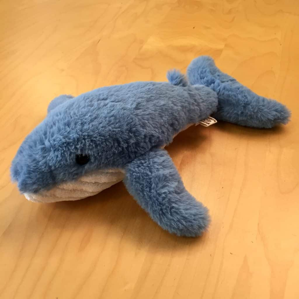 Fluffy Blue Whale